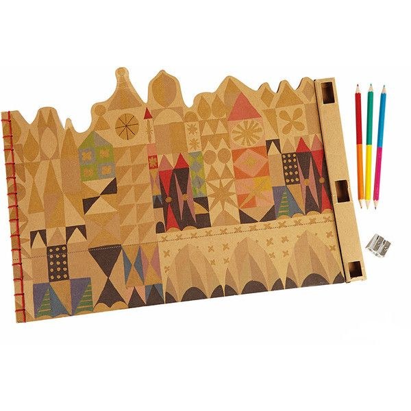 Add some Walt Disney sparkle to your children's dinner time with this It's a Small World sketch mats & pencil set, inspired by the iconic theme park ride. The p...