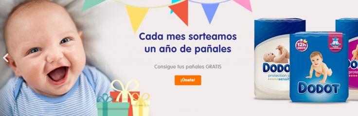 Cupones, descuentos y ¡un año de pañales Dodot gratis!
