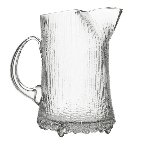 Ultima Thule ice-lip pitcher by Iittala. Design by Tapio Wirkkala.