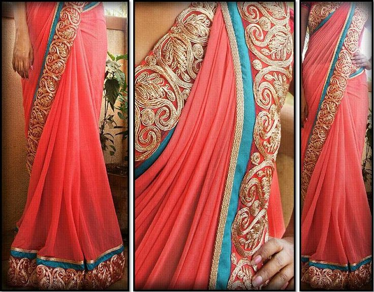 How about gifting a custom made saree this Mother's Day?