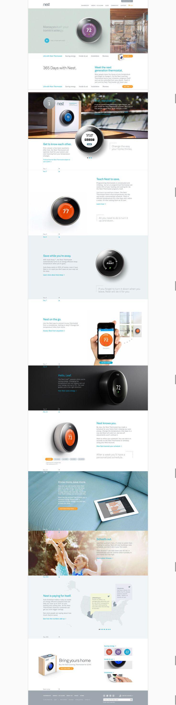 """Nest Thermostat do každé kanceláře. Už žádné návody """"jak ovládat klimatizaci"""". S tímhle to půjde samo ;)"""