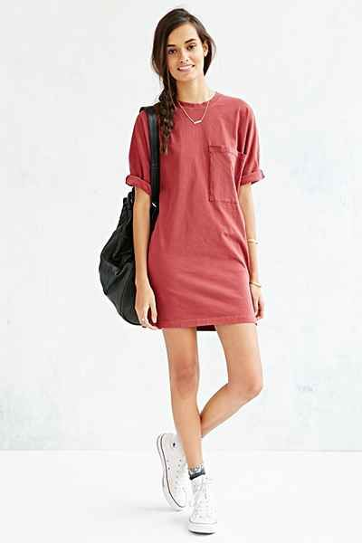 BDG Most Comfy Tee Dress - Urban Outfitters