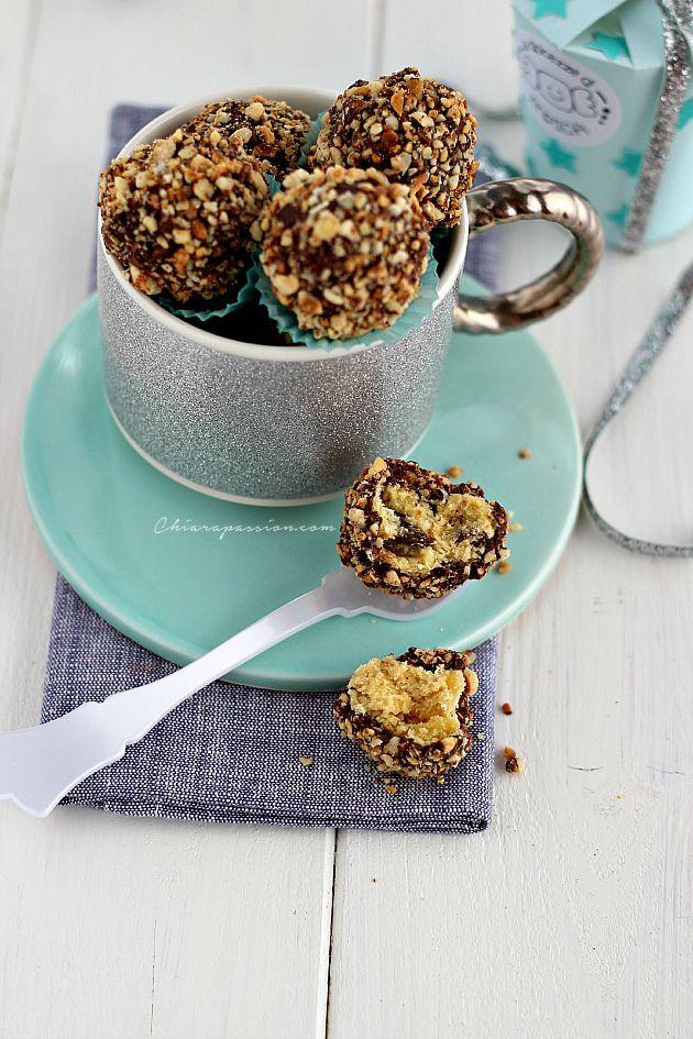Truffles, tartufi cioccolato e panettone