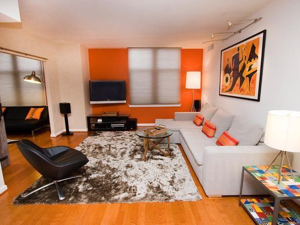 Die besten 25+ Orange wohnzimmerfarbe Ideen auf Pinterest - wohnzimmer grau orange