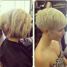 Von langen zu kurzen Haaren: 10 Bilder Vorher-Nachher-Frisuren – lasst euch inspirieren - Neue Frisur