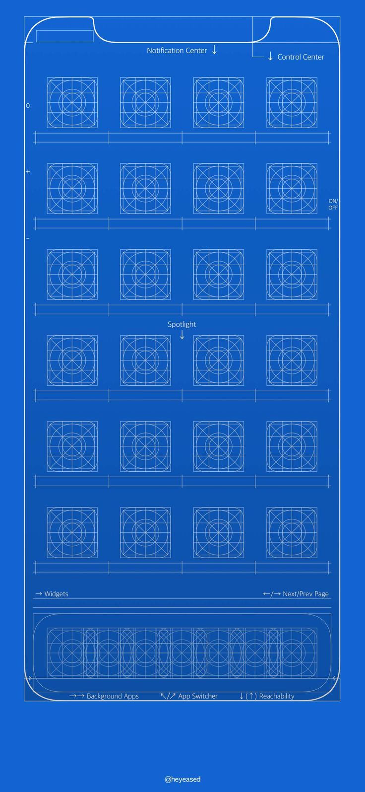 The 25 best iphone wallpaper blueprint ideas on pinterest its blueprint iphone x home screen 1301x2820 igur submitted malvernweather Gallery