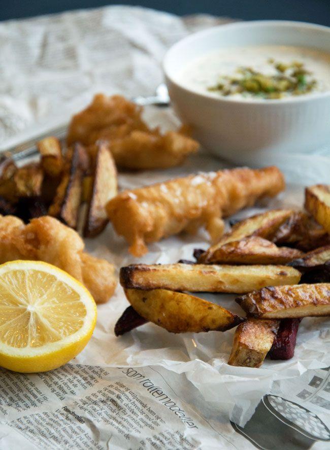 Fish n Chips opskrift