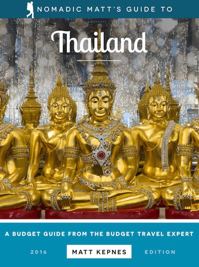 A comprehensive budget travel guide to the Thailand with tips and advice on things to do, see, ways to save money, and cost information.