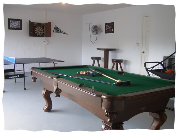 Wonderful Want A Pool Table In There : )