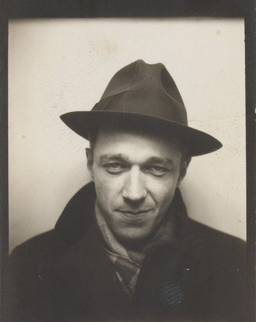 Walker Evans, self portrait