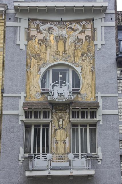Rue des Francs  Etterbeek, Bruxelles