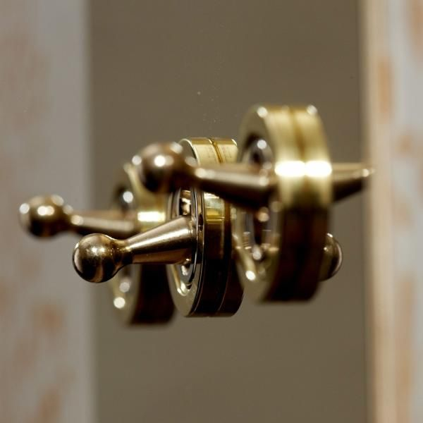 Brushed Brass Light Switches: Objects of Design #240: Light Switches,Lighting
