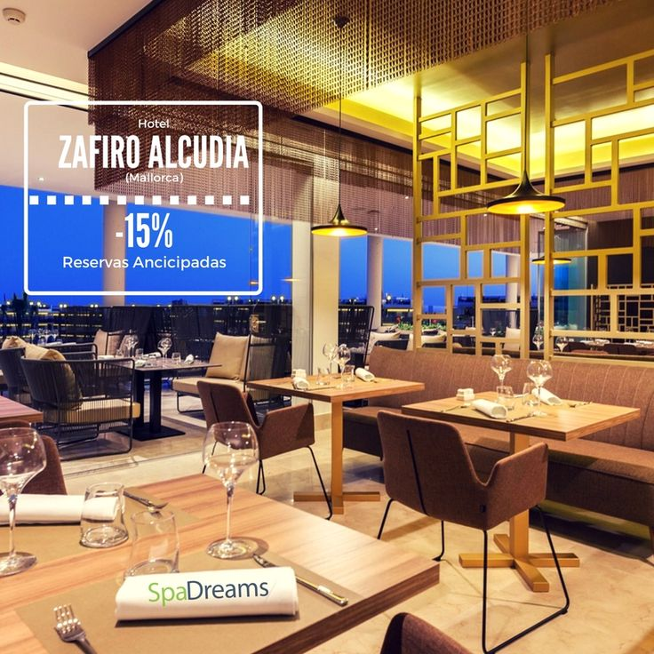 15% de descuento en Reservas anticipadas. Hotel Zafiro Alcudia (Mallorca). Puede disfrutar esta promoción entre el 21/07 y el 30/08. Las reservas son válidas hasta el 31/07. #hotelzafiroalcudia #spadreams #happy #travel #vacaciones #viajes #viajar #relax #spa #bienestar #wellness #beauty #salud #tratamientos #antiestrés