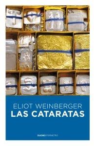 Las cataratas, de Eliot Weinberger, nuevo libro traducido por Aurelio Major en la editorial Duomo.