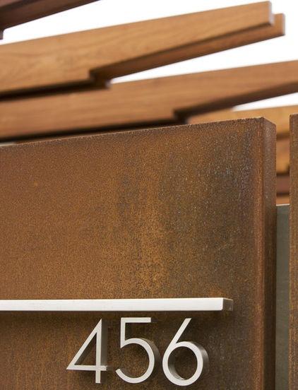 contemporary exterior by Laidlaw Schultz architects - corten + ss