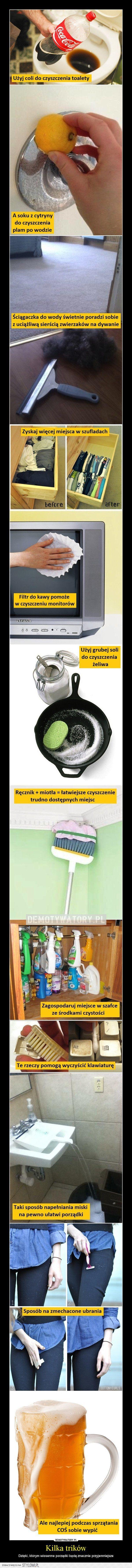 Kilka trików na wiosenne porządki na Stylowi.pl
