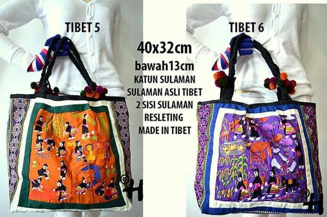 Ethnic bag made in TIBET $45 usd