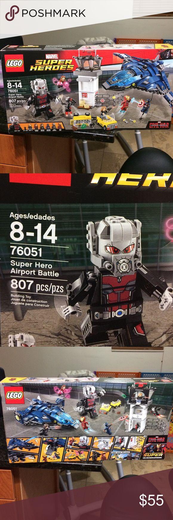 LEGO Super Heroes Super Hero Airport Battle 76051 LEGO Super Heroes Super Hero Airport Battle 76051 Lego Other