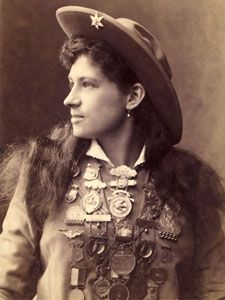Annie Oakley; Way more than just a sharp shooter!
