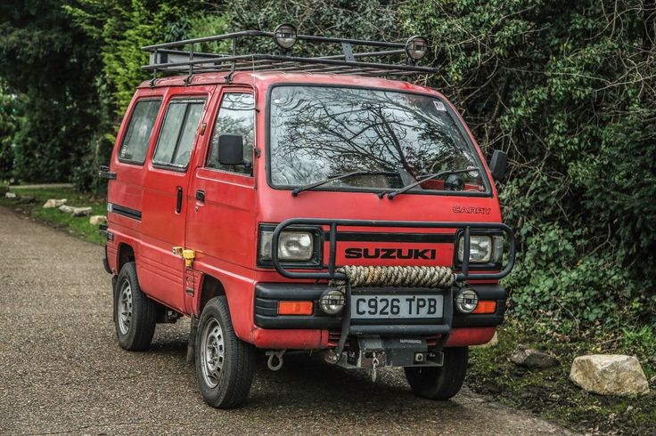1986 Suzuki Supercarry Rascal Expedition Overland van with LPG | eBay