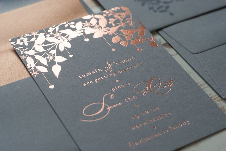 peach and gold save the date - Google Search                                                                                                                                                                                 More