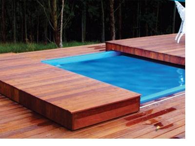 Piscina com cobertura for Cobertura piscina