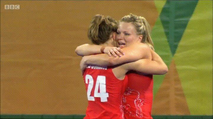 Hollie Webb on scoring the winning goal in the Rio Olympics Hockey final