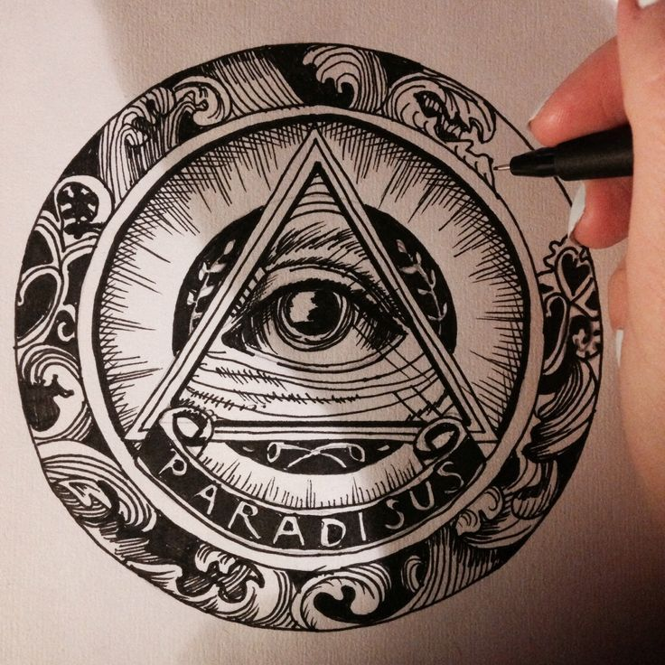 traditional all seeing eye tattoo design - Google Search