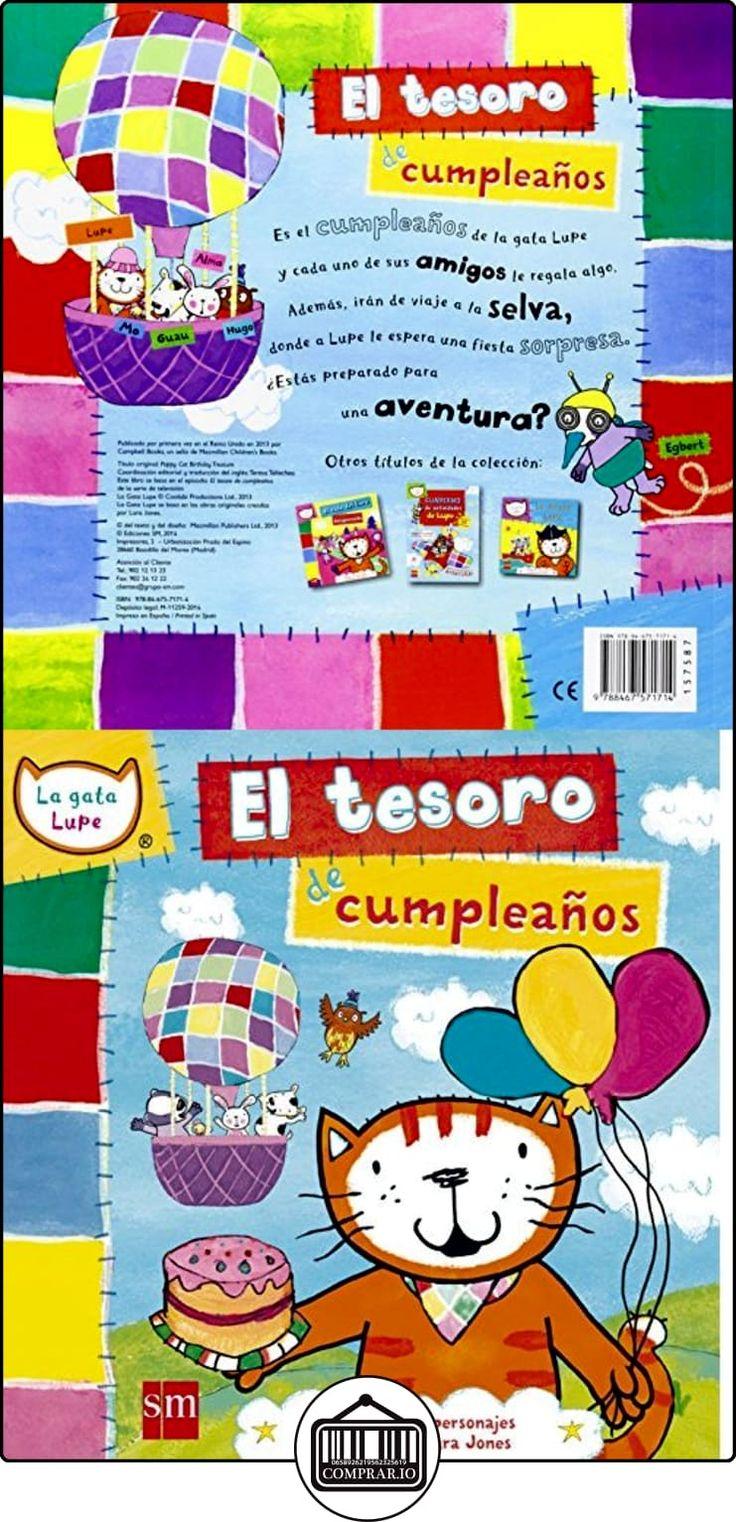 El Tesoro De Cumpleaños (La gata lupe) Lara Jones ✿ Libros infantiles y juveniles - (De 0 a 3 años) ✿