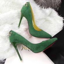Г-жа Роуз розовая кожа указал на высоких каблуках с тонкими отметил высоком каблуке насосы женщин обувь белый свадебные туфли невесты обувь ...