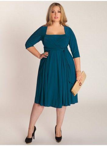 Ninelle Dress in Blue Coral. IGIGI by Yuliya Raquel. ww.igigi.com