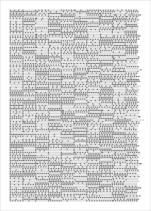 notation font | carsten nicolai  | time..dot,  2000