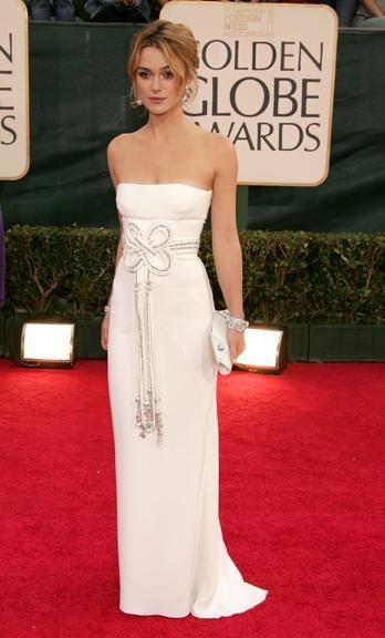 Ama vestidos brancos? Keira Knightley tem uma coleção! Veja 20 peças da atriz