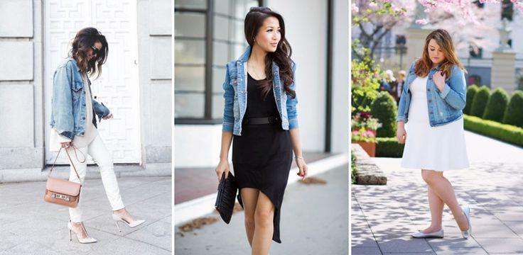 Jeansjacke kombinieren: Styling-Tipps für jede Figur