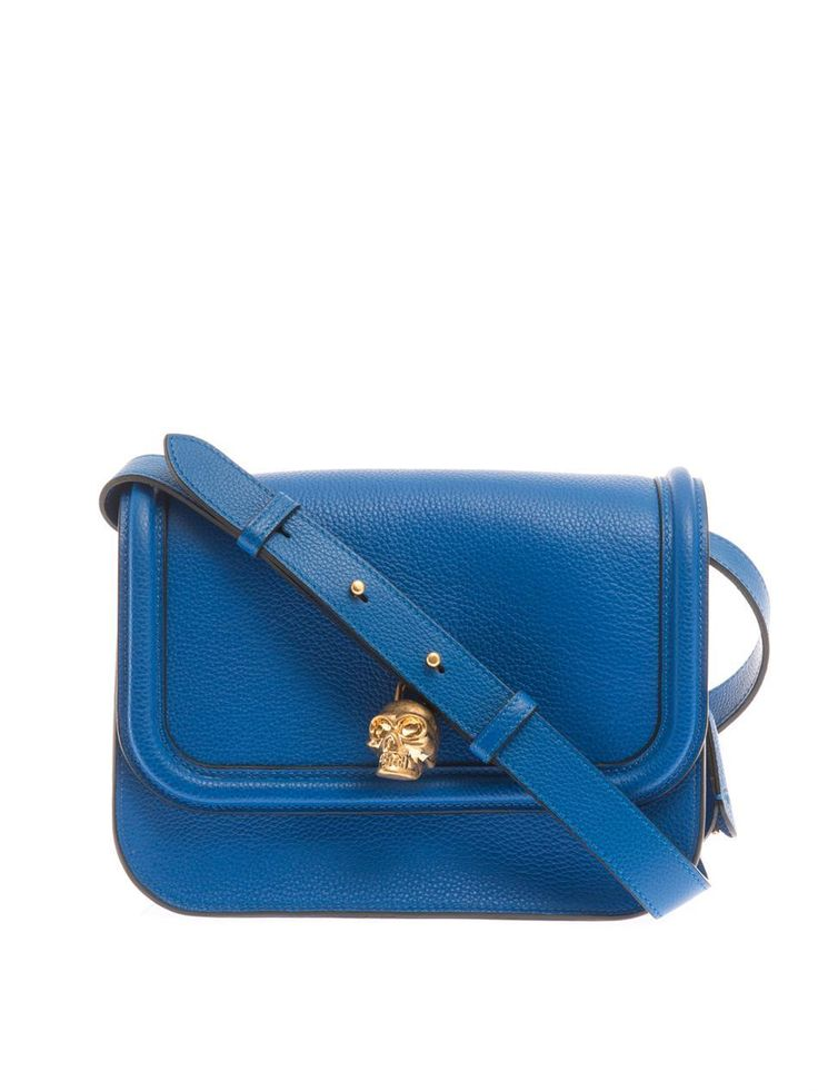 ALEXANDER MCQUEEN Leather Cross Body Bag £670- Embrace this season's colour with a brilliant bright saddle bag
