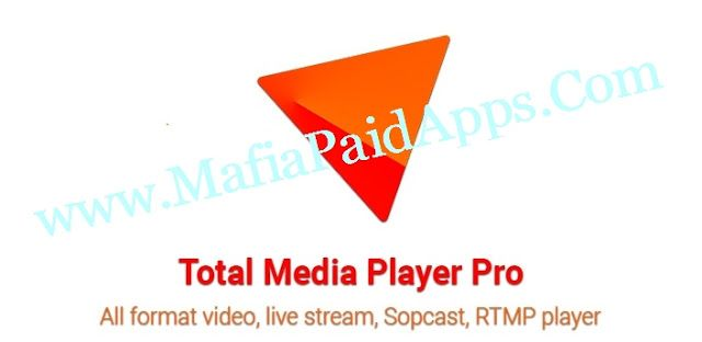 Total Media Player Pro v1.7.3 Apk   Ad free version of Total Media Player. All new features and bugs fix will arrive here first.  Supported audio-video file formats: mp4 mkv m4v mov flv avi rmvb rm ts tp torrent ace live webm mpg m3u8 m3u mp2 wav mp3 aac vob and many others  Supported media protocols: http https mms rtspsopcast podcast hls (m3u8)ace stream rtmp rtmpe sop ftp iptv and many others  Main Features:  - Ultra HD video player without download additional codecs - Rich menu and…