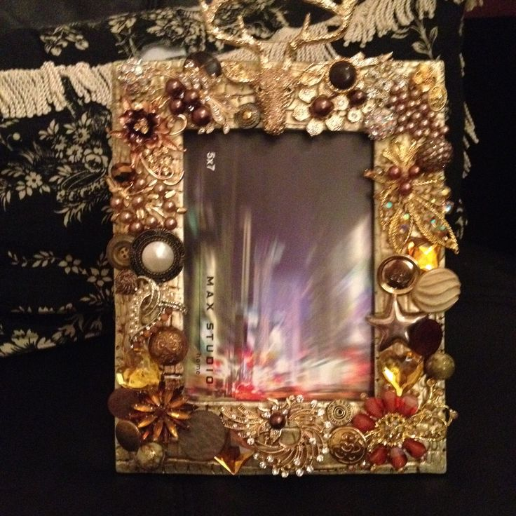 1000 Images About Jeweled Embellished Picture Frames On