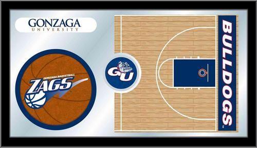 Gonzaga University Bulldogs Game Day Mirror Art Decoration