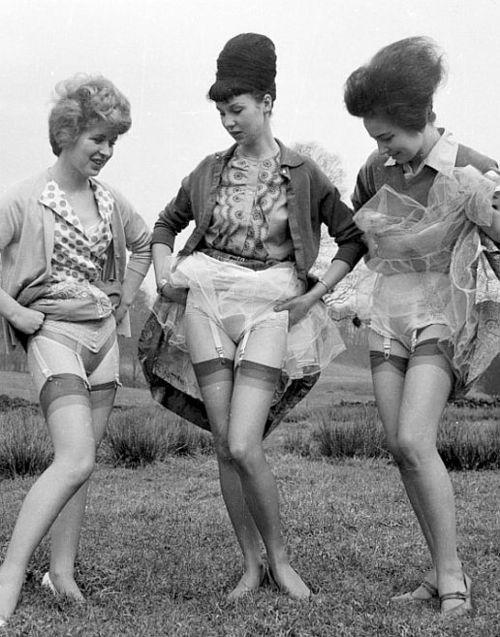 Love this vintage lingerie photo