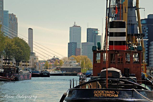 Leuvehaven #Rotterdam #Leuvehaven #boats #boten #ship #ships