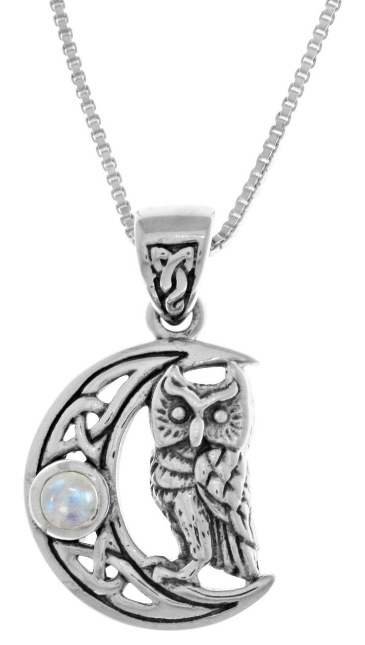 celtic moonstone necklace - 736×1300