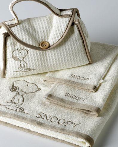 Snoopy badlinnen