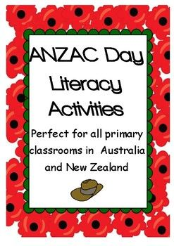 A well organised bundle of activities to use with any ANZAC Day resources or selected texts. The activities are adaptable for most age groups and would work well for Armistice Day. Books are not included