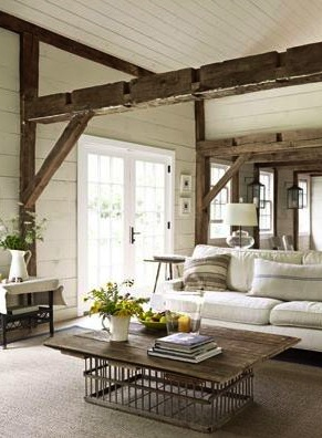 20 best images about post and beam ideas on pinterest for Post and beam living room ideas