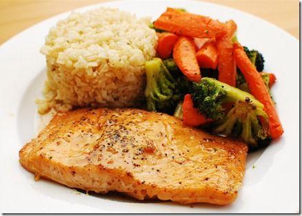 Maple Glazed Salmon | Slimming Eats - Slimming World Recipes