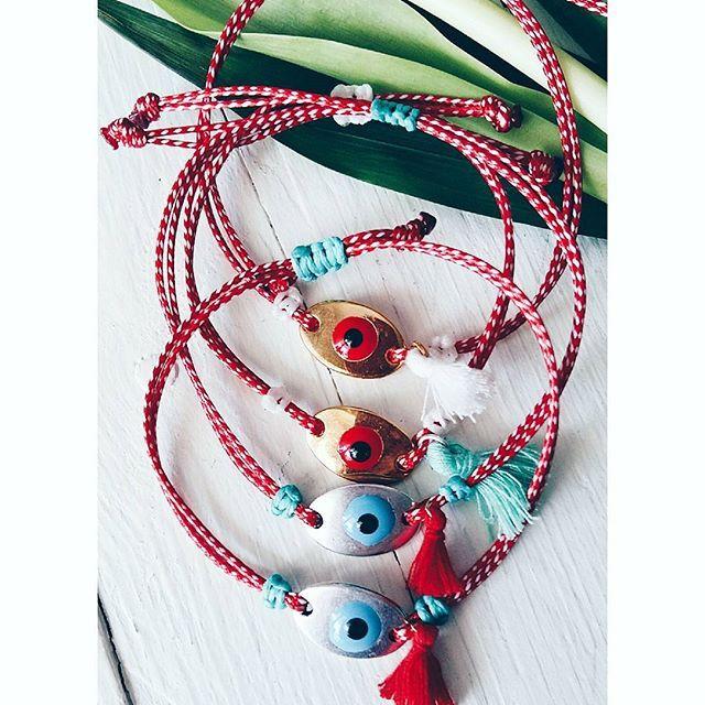 •ready for March• #ohsocutethings #handmade #jewelry #greekdesigners #greekdesigner #madeingreece #instapic #jewelrygram #photooftoday #love #cute #instagood #instaphoto #evileye #fashion#spring #sun #fashionjewelry #fashionista#lucky #fashiongram #happy #martis #martakia #marchbracelet #μαρτης #μαρτακια #