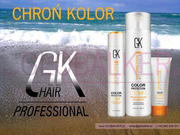Szampon nawilżający plus Ochrona Koloru GK Hair Juvexin Moisturizing Global Keratin Juvexin Warszawa Sklep #no.1 #globalker