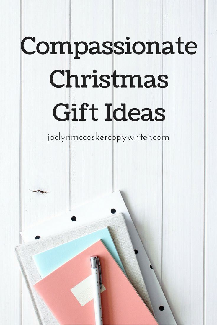 Compassionate Christmas Gift Ideas