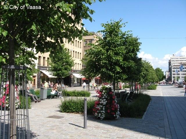 City centre @ Vaasa, www.visitvaasa.fi, Photographer Nina Westerlund