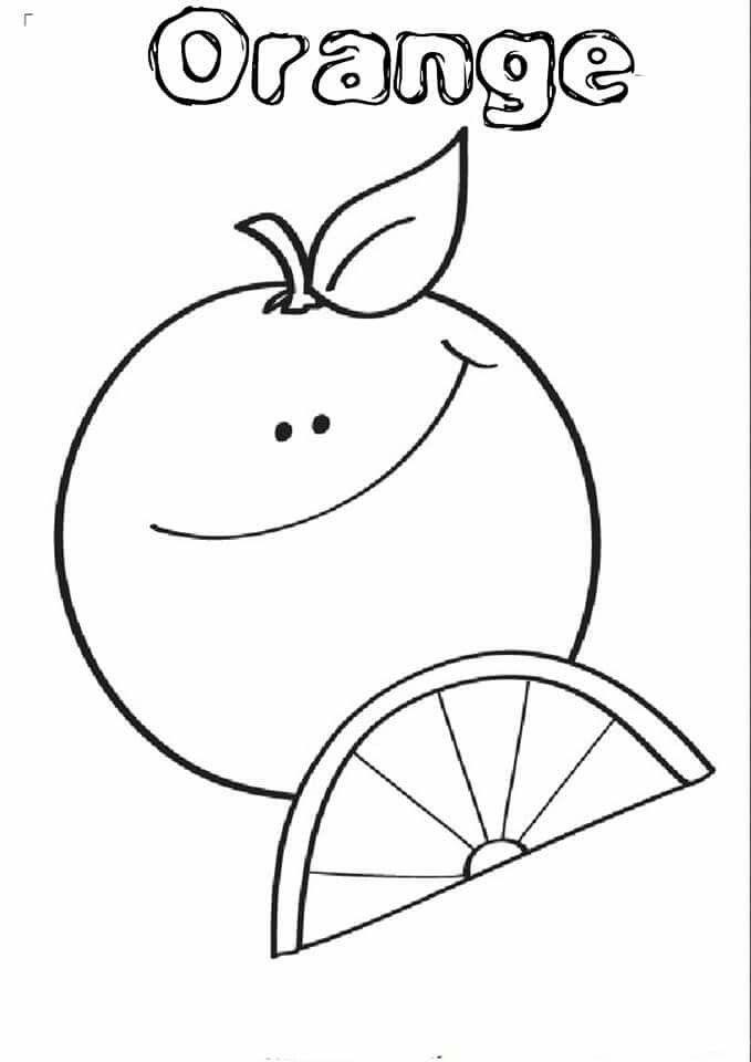 Orange Ders Içi Boyama Snoopy Character Ve Orange